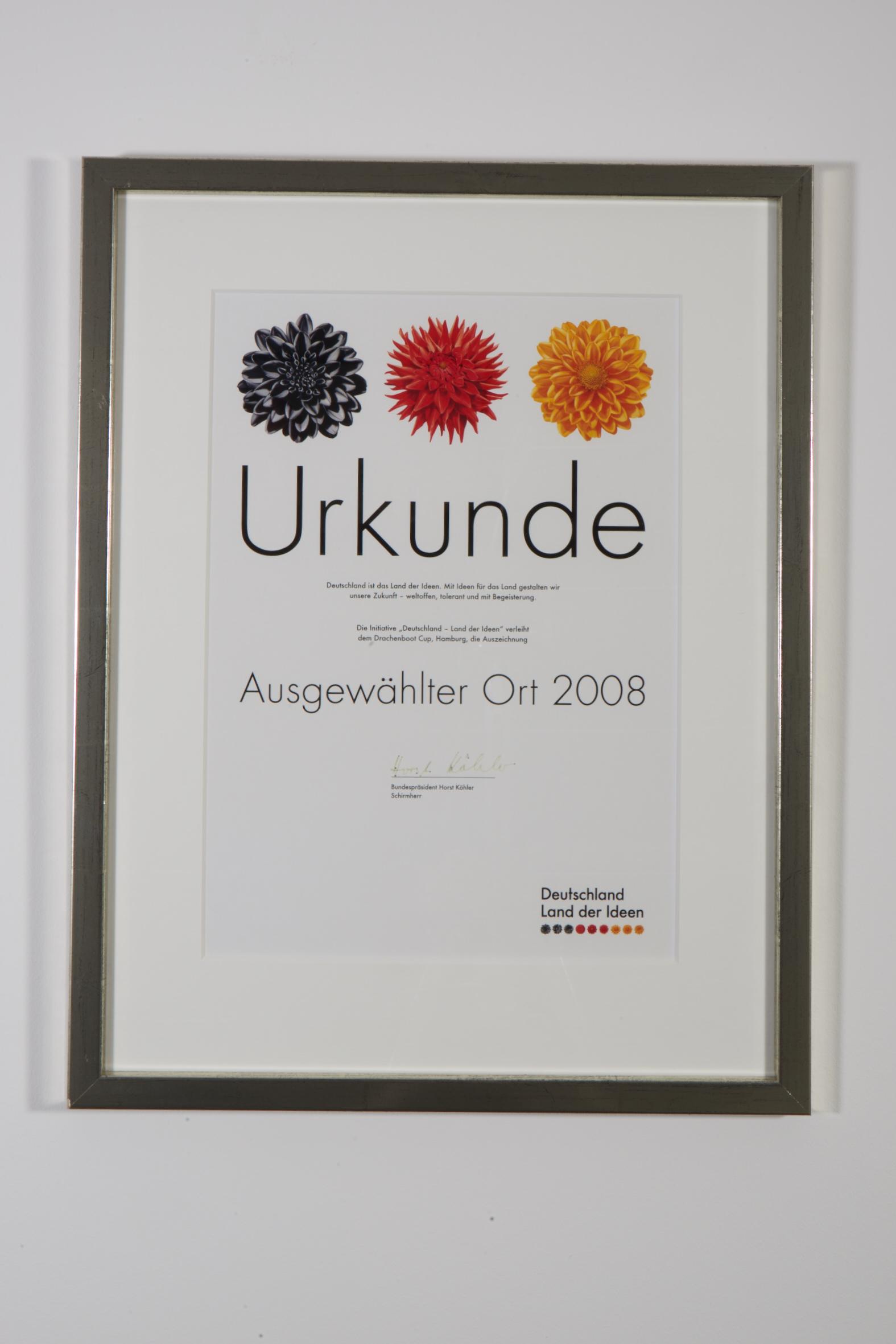 Deutschland Land der Ideen, 2008