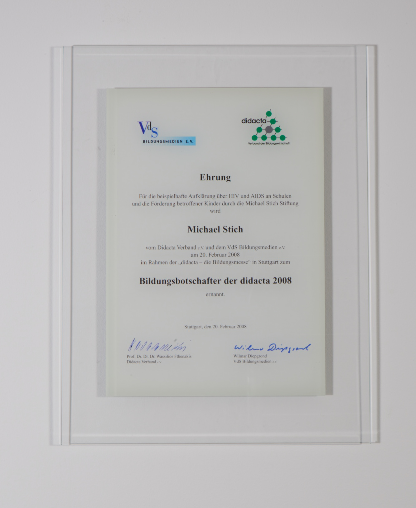 Awards - Michael Stich Stiftung